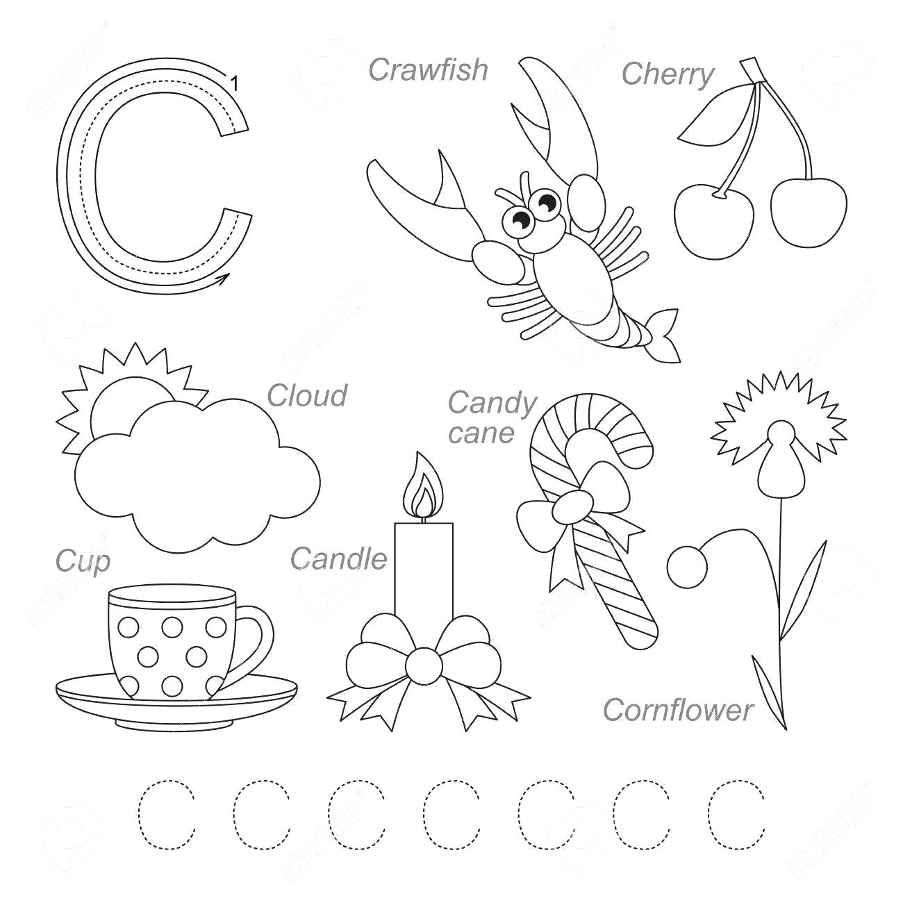 Letter C Worksheets For Learning. Letter C Worksheets - Misc with regard to Letter C Worksheets For Grade 1