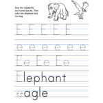 Letter E Worksheet – Tracing And Handwriting – Early With Letter E Worksheets For Nursery