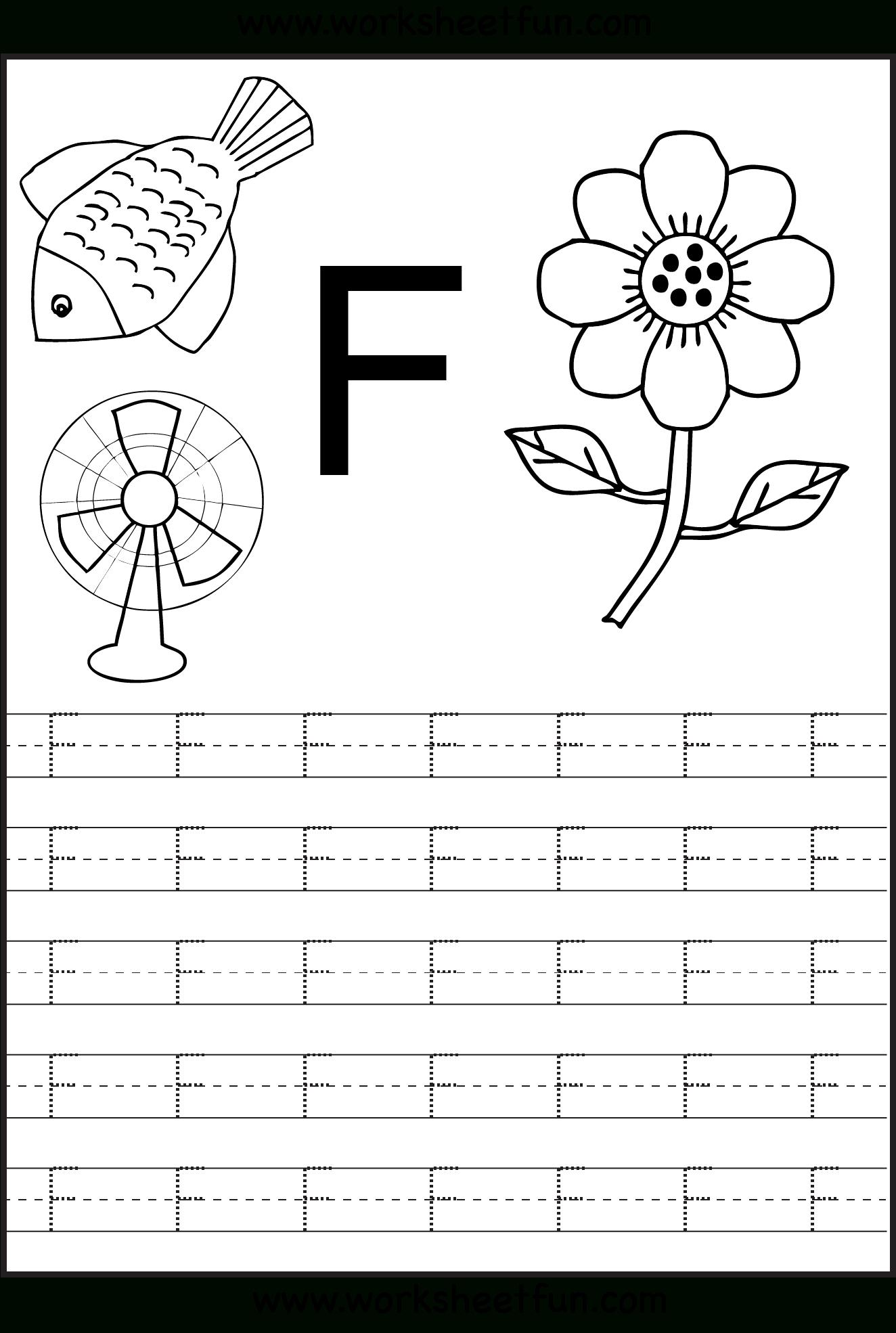 Letter F Worksheets | H3Dwallpapers - High Definition Free inside Letter F Tracing Preschool