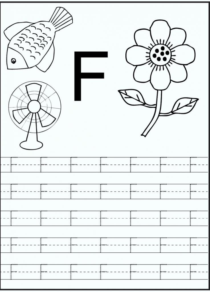Letter F Worksheets Intended For Letter F Worksheets For Toddlers