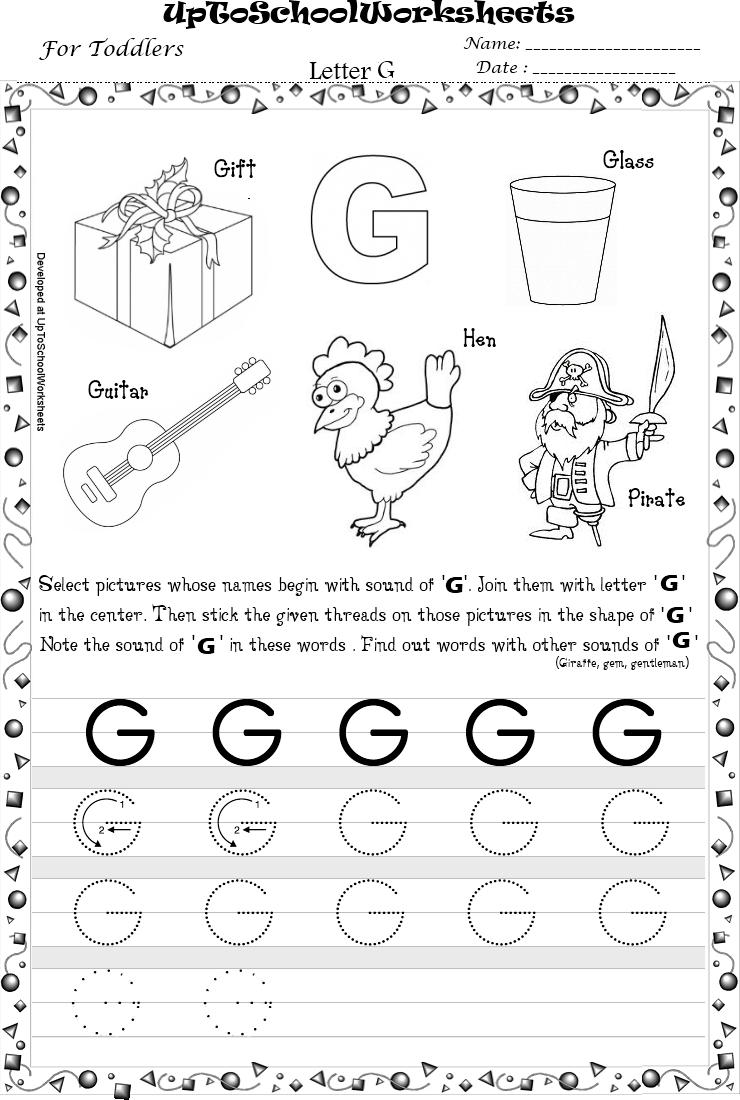 Letter G Worksheets Hd Wallpapers Download Free Letter G in Letter G Worksheets For Kindergarten