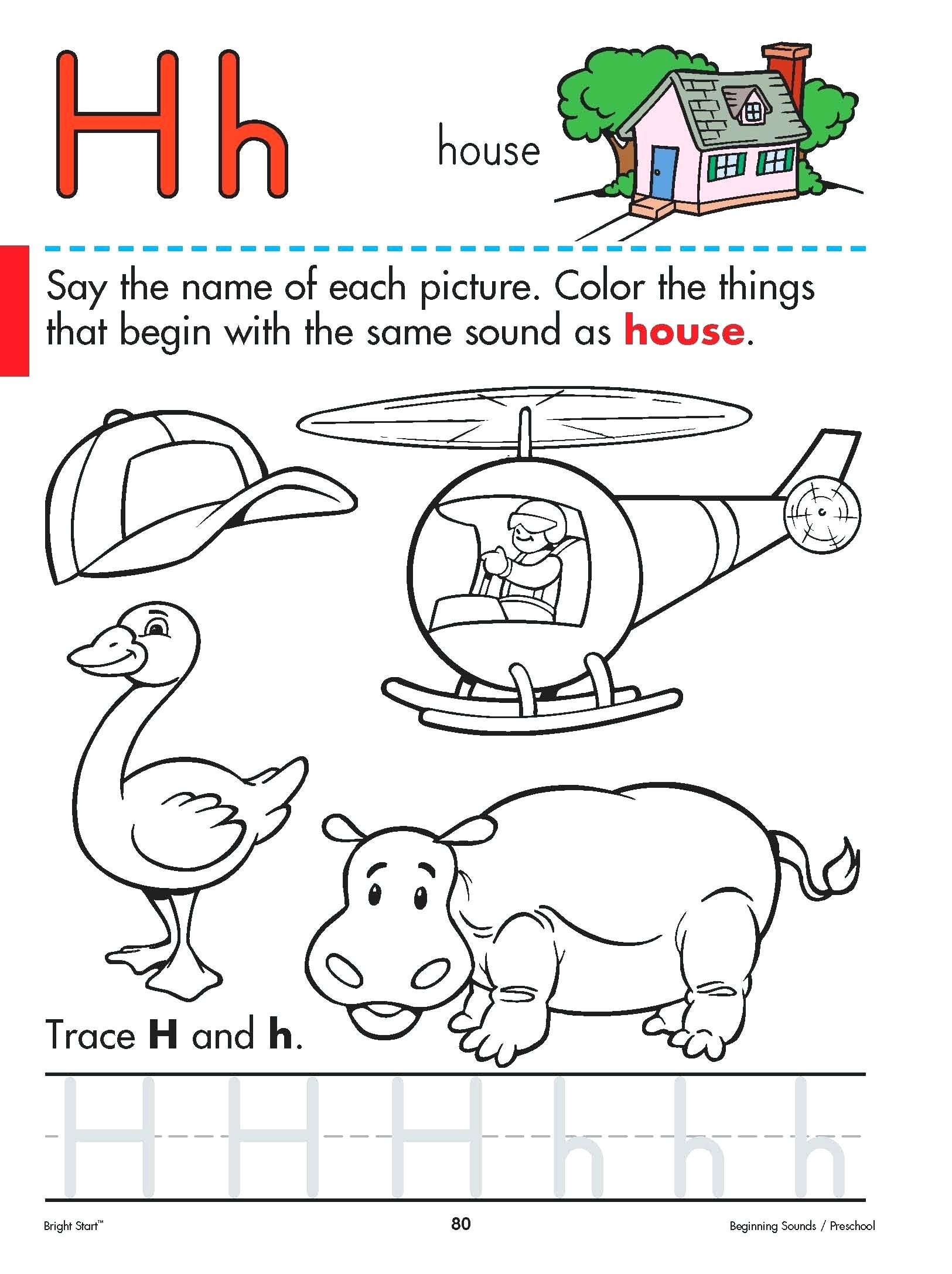 Letter H Activity For Preschool Image Result For Letter H with regard to Letter H Worksheets Craft