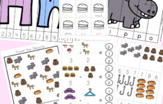 Letter H Worksheets Activity