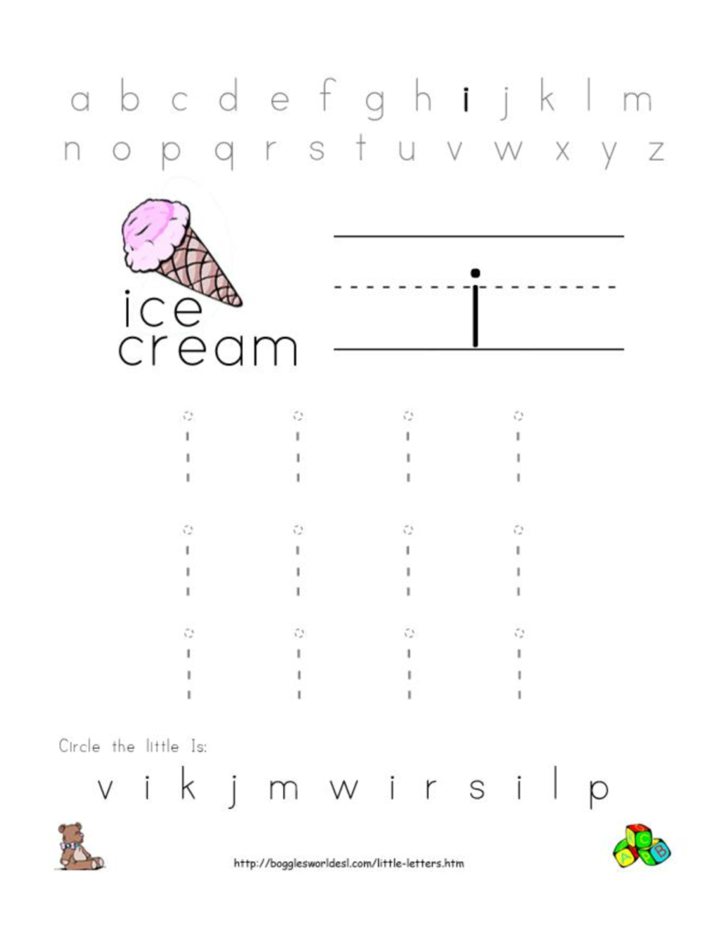 Letter I Worksheets Printable | Alphabetworksheetsfree Pertaining To Letter I Worksheets Free Printables