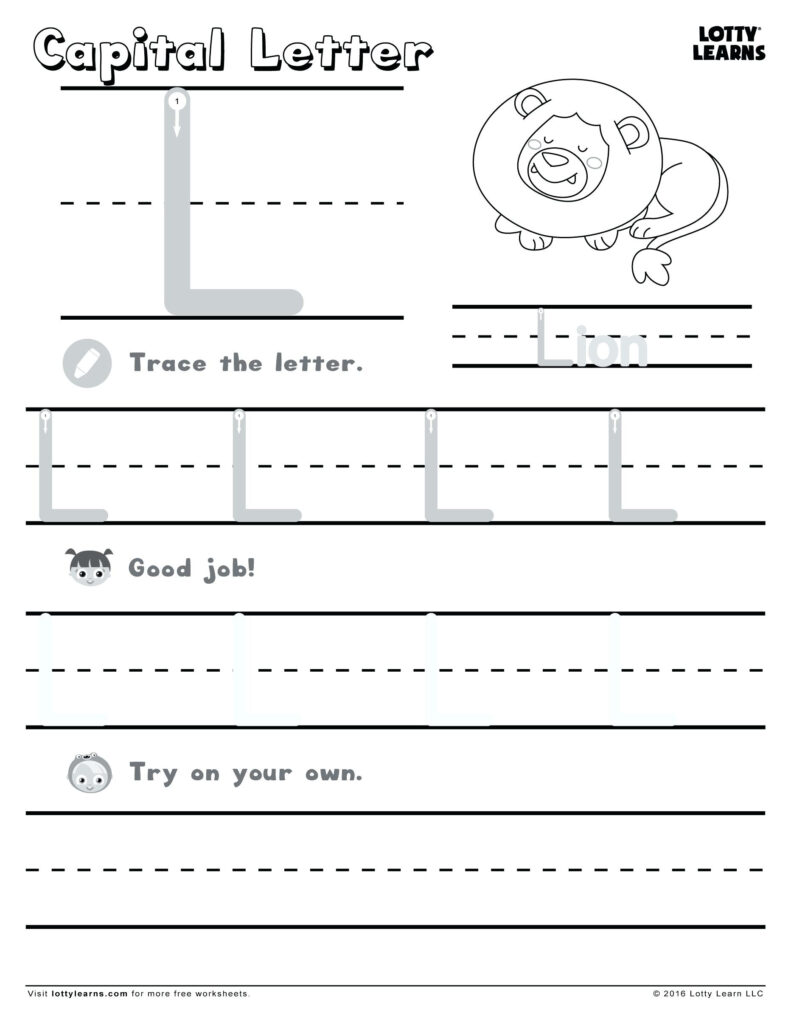 Letter L Worksheets For Kindergarten Letter L Activities For Intended For Letter L Worksheets For Kindergarten Pdf
