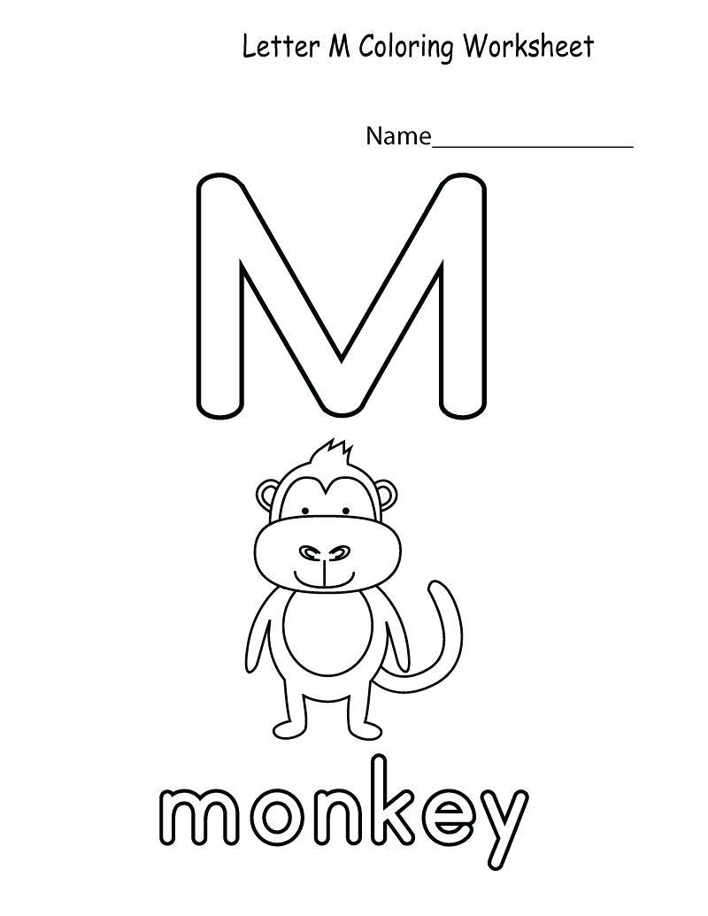 Letter M Worksheets To Download. Letter M Worksheets pertaining to Letter M Worksheets Free Printables