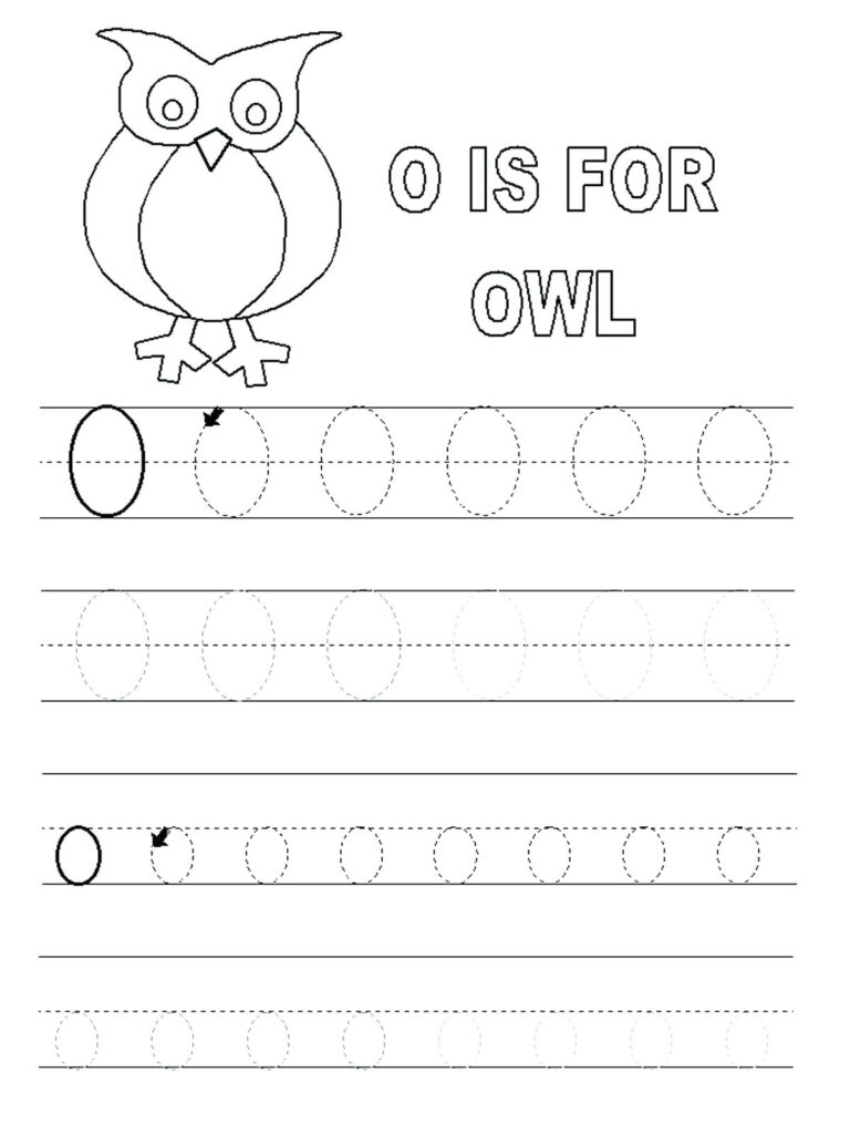Letter O Printables Letter O Cursive Letter Printables Free Intended For Letter O Worksheets Pdf