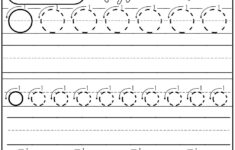 Letter O Tracing Sheet