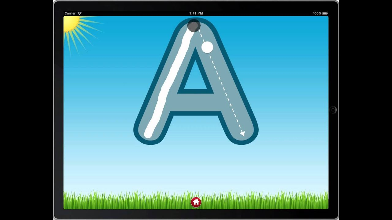 Letter Quiz Preview - Letter Tracing throughout Alphabet Tracing On Ipad