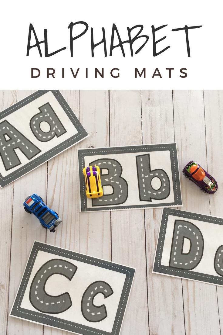 Letter Roads | Alphabet Preschool, Alphabet Activities with regard to Alphabet Tracing Road