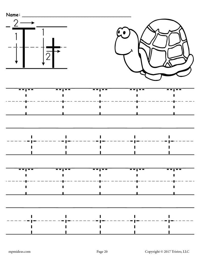 Letter T Worksheet For Preschool - Clover Hatunisi regarding Letter T Worksheets Preschool
