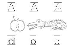 Alphabet Tracing Exercises