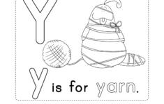 Letter Y Worksheets Printable