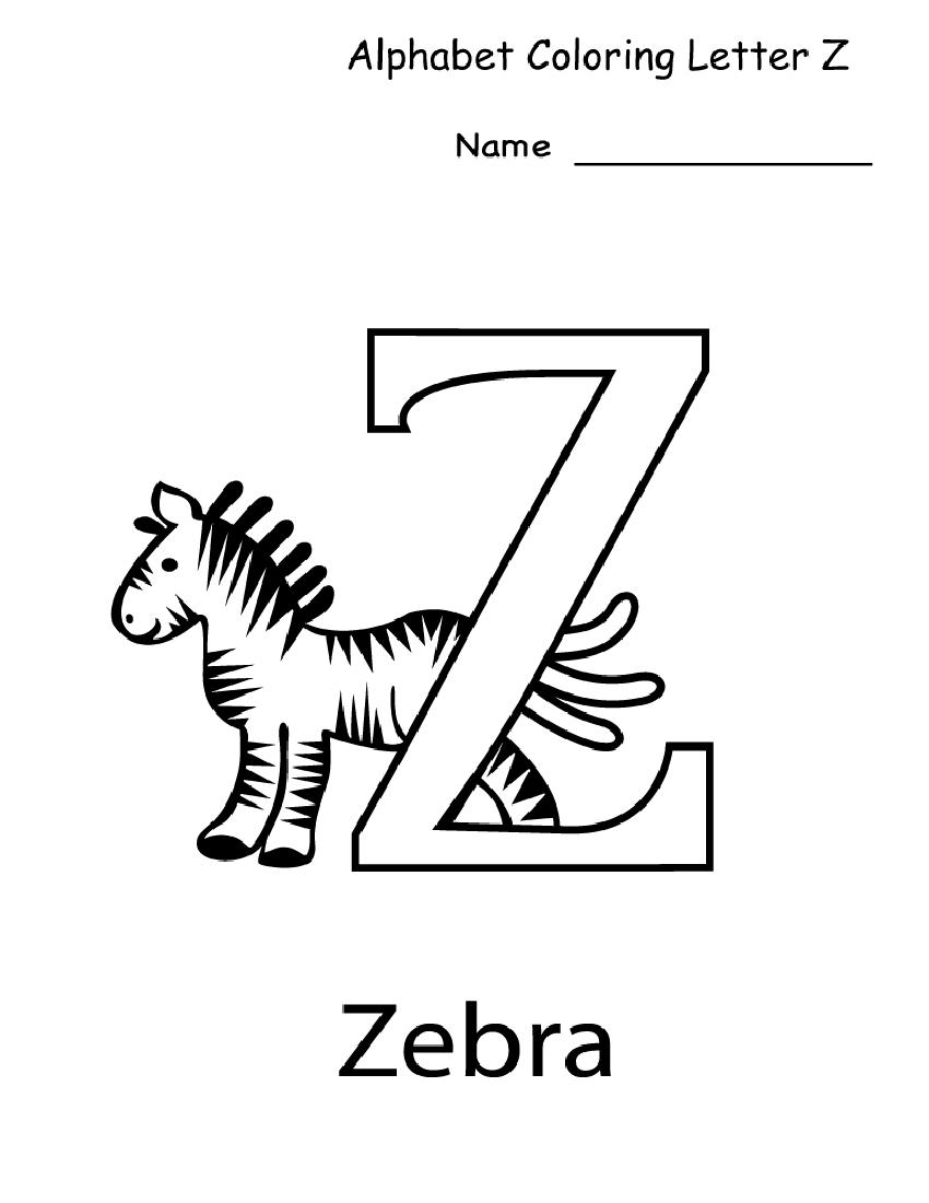 Letter Z Worksheets For Kindergarten   Activity Shelter with Letter Z Worksheets Pre K