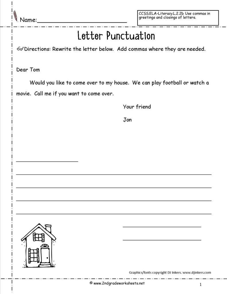 Letters And Parts Of A Letter Worksheet Within Alphabet Worksheets For 2Nd Grade