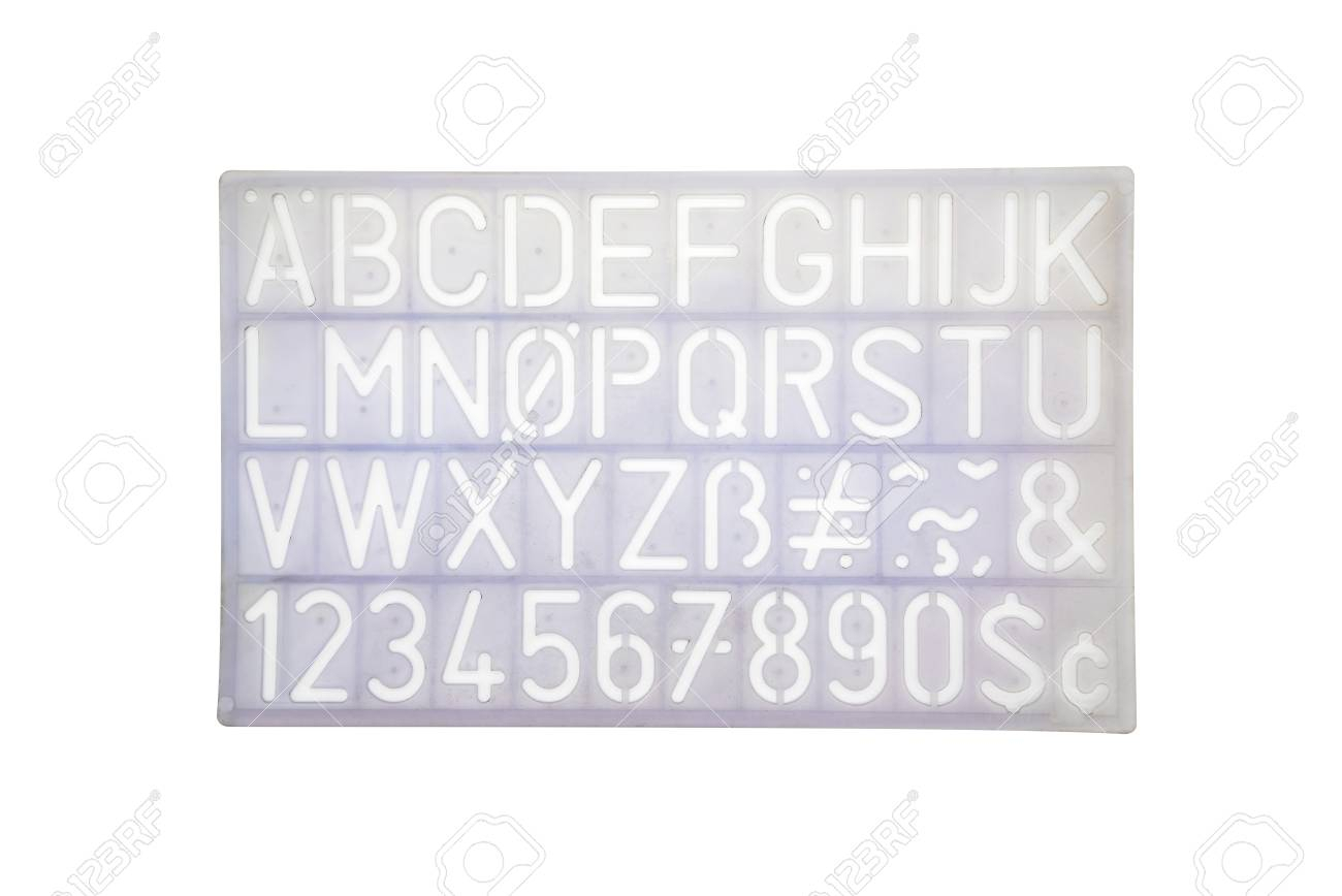 Light Blue Alphabet Stencil Lettering Pvc Plastic Ruler Template.. with Alphabet Tracing Ruler