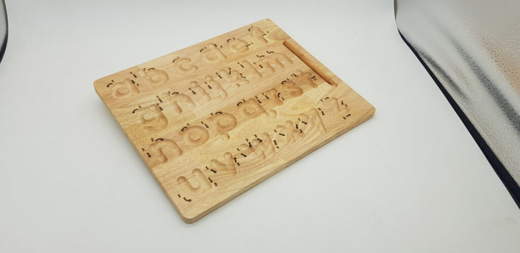 Lower Case Letter Tracing Board Pertaining To Alphabet Tracing Board