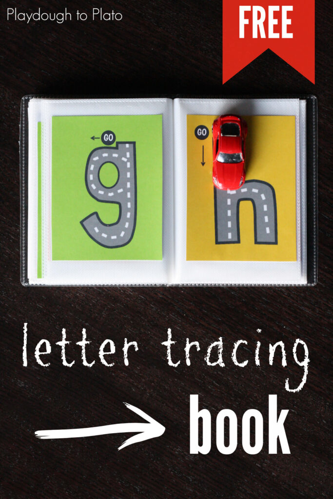 Lowercase Letter Tracing Book   Playdough To Plato In Letter Tracing Roads
