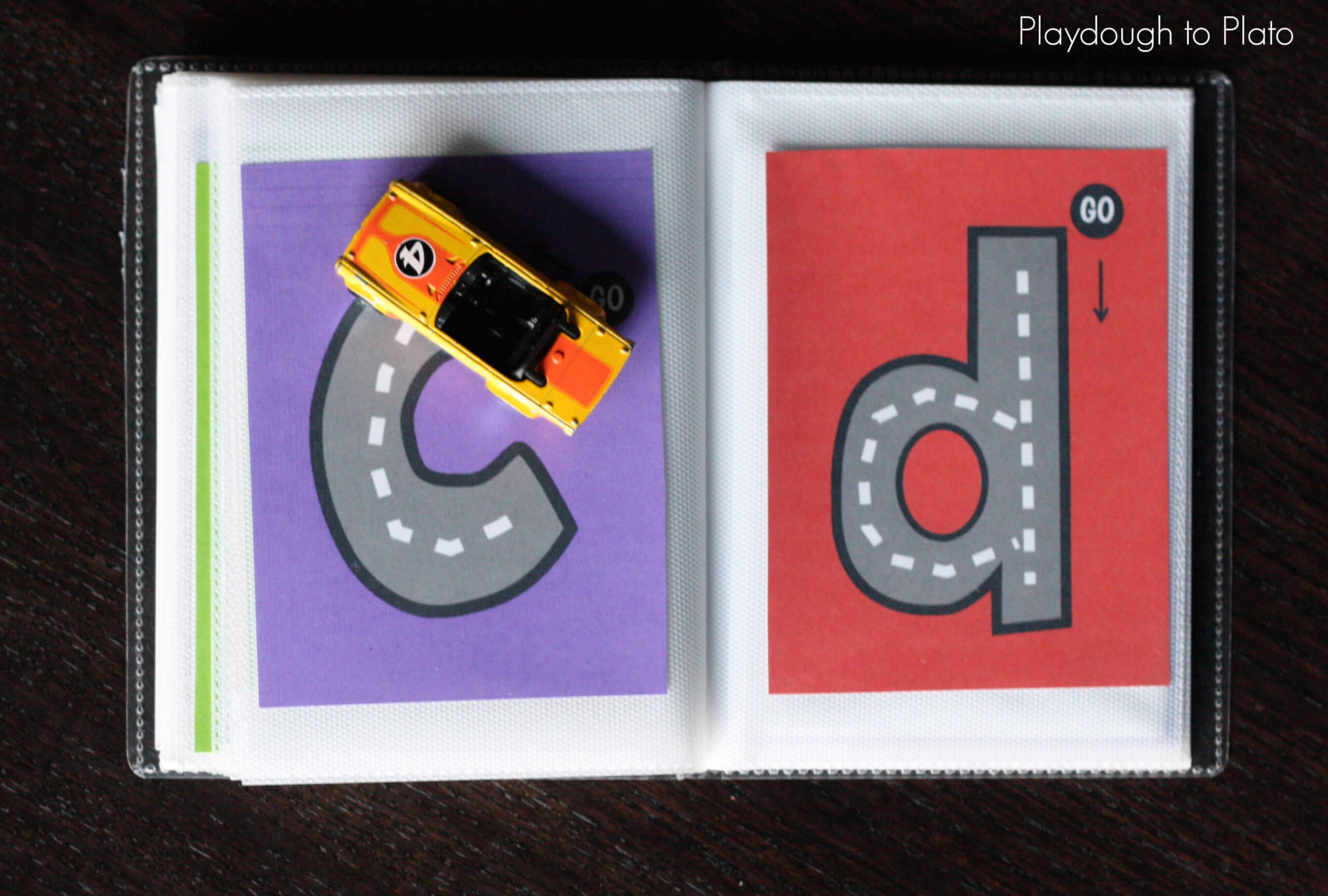 Lowercase Letter Tracing Book - Playdough To Plato throughout Alphabet Road Tracing Book