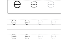 Letter J Tracing Page
