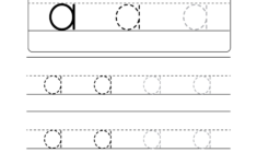 I Letter Tracing