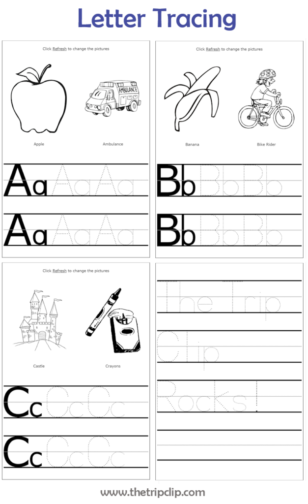 Make Your Own Handwriting Practice | Learn Handwriting Within Letter Tracing Make Your Own
