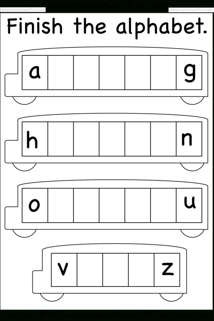 Missing Letters | Alphabet Worksheets, Alphabet Worksheets With Regard To Alphabet Worksheets Grade 2