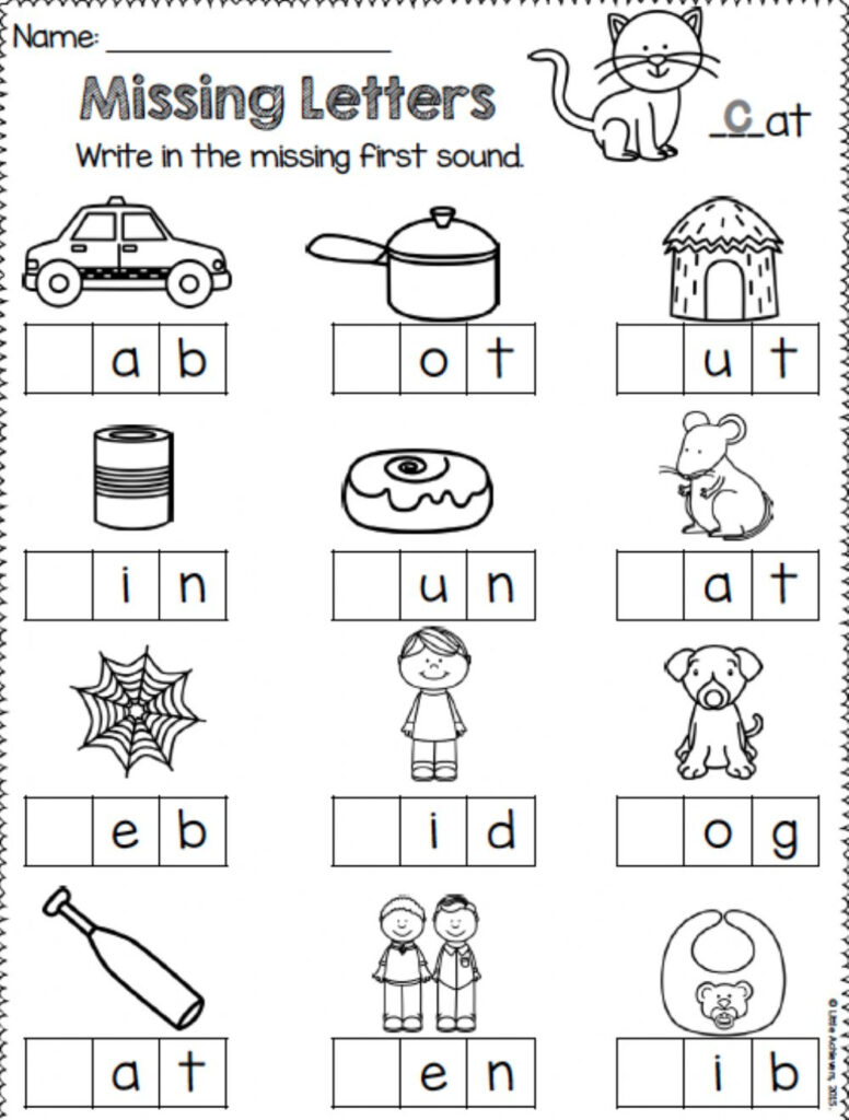 Missing Letters   Interactive Worksheet With Regard To Alphabet Worksheets Missing Letters