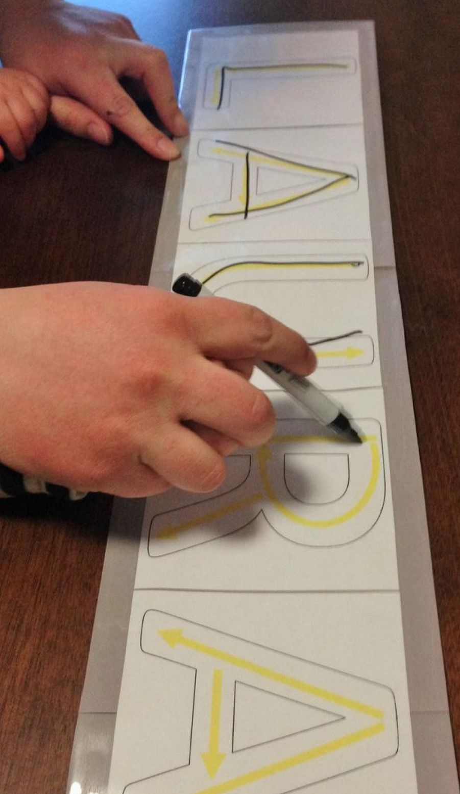 Name Recognition: Name Tracing   Handwriting Activities pertaining to Name Tracing Program