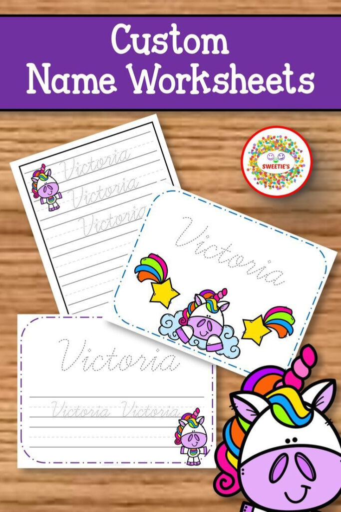 Name Tracing Handwriting Worksheet   Personalized Name Throughout Name Tracing App Cursive