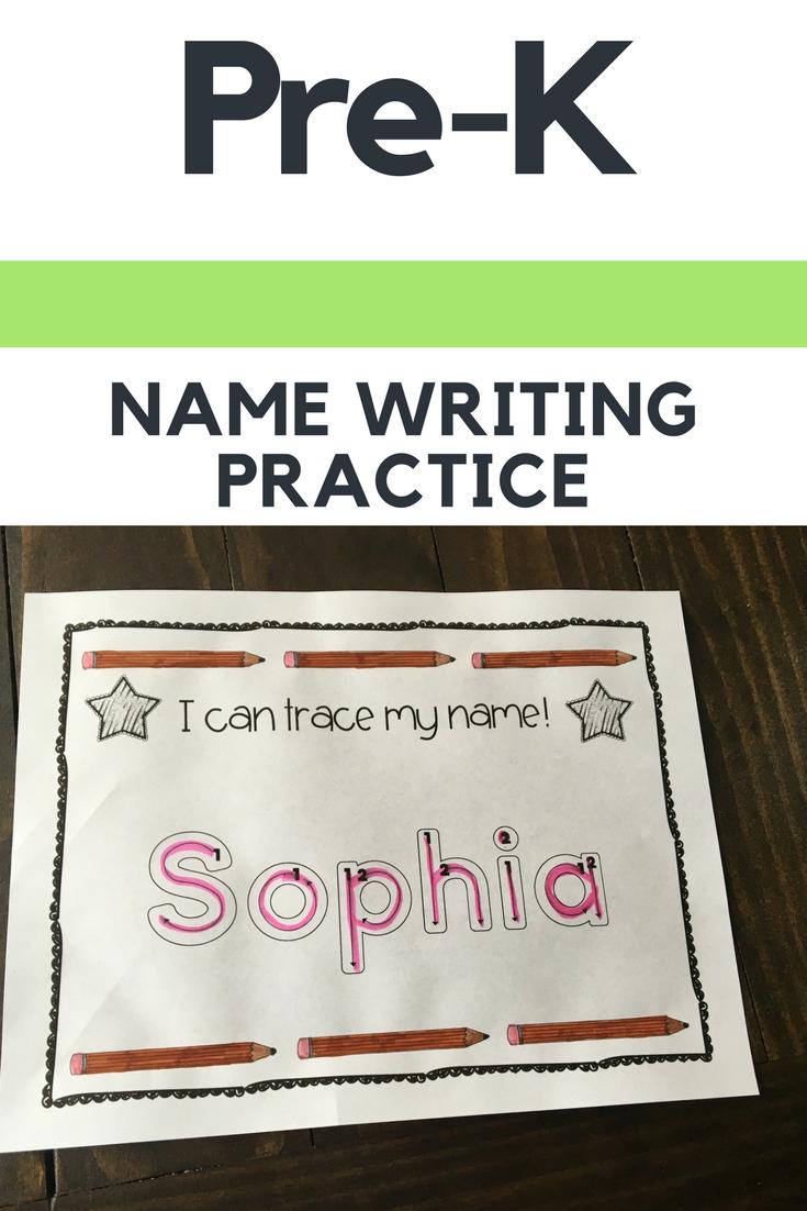 Name Tracing Practice (Custom Order)   Name Writing Practice intended for Pre K Custom Name Tracing