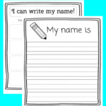 Name Tracing Printable – Eduprintables Pertaining To Zachary Name Tracing