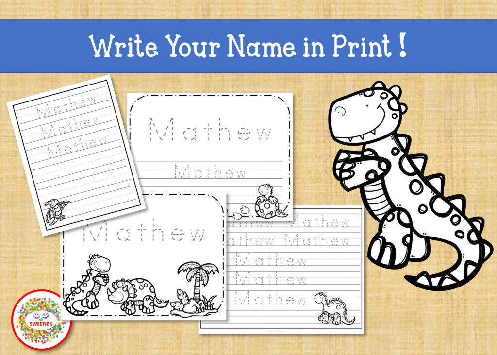 Name Tracing Worksheet | First Grade Letter Writing Paper | Custom Name  Writing Worksheet | Handwriting Practice Regarding Name Tracing Printables Custom