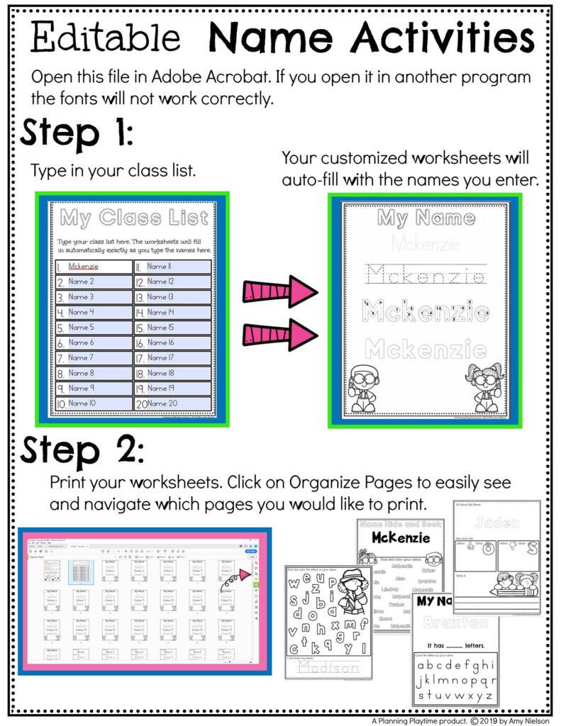 Name Tracing Worksheets | Name Tracing Worksheets, Tracing With Name.tracing