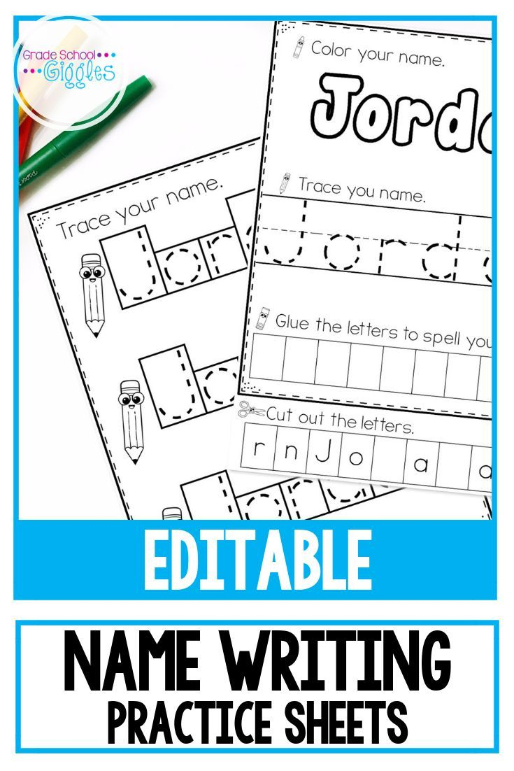 Name Writing Practice Editable | Name Writing Practice regarding Letter Tracing Editable
