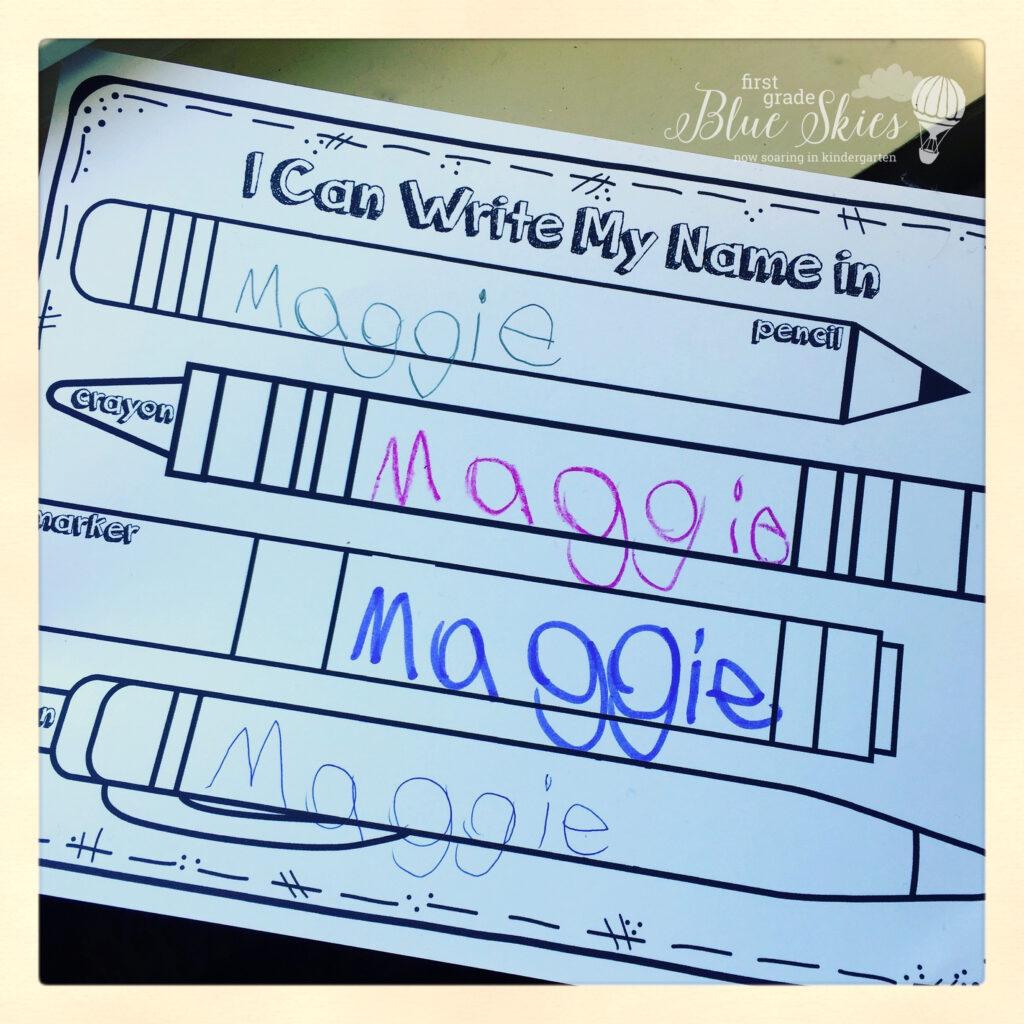 Name Writing Practice  Handwriting Ideas And Freebie Pertaining To Tracing Name David