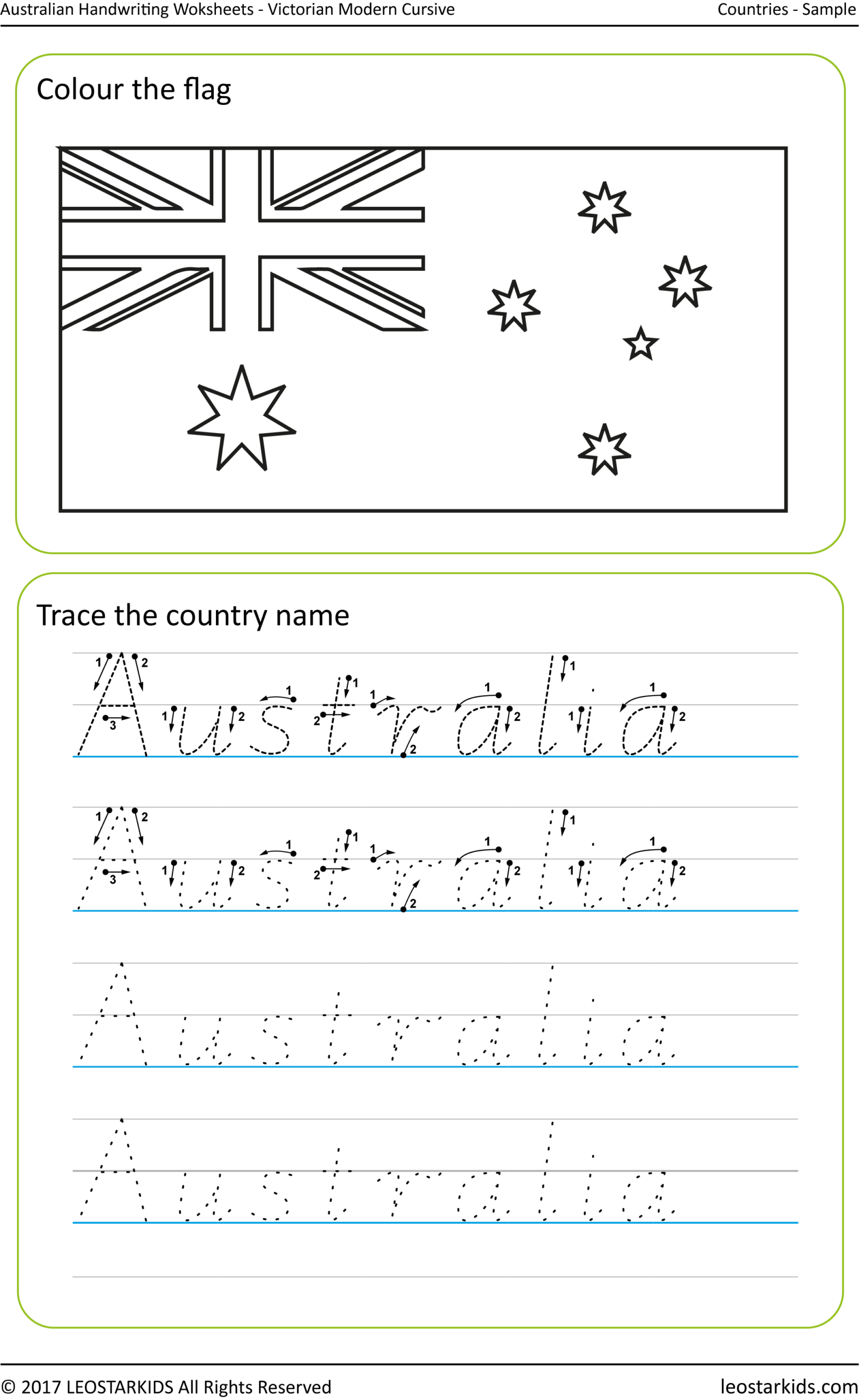 Nsw Foundation Style Handwriting Alphabet Practice within Alphabet Tracing Nsw