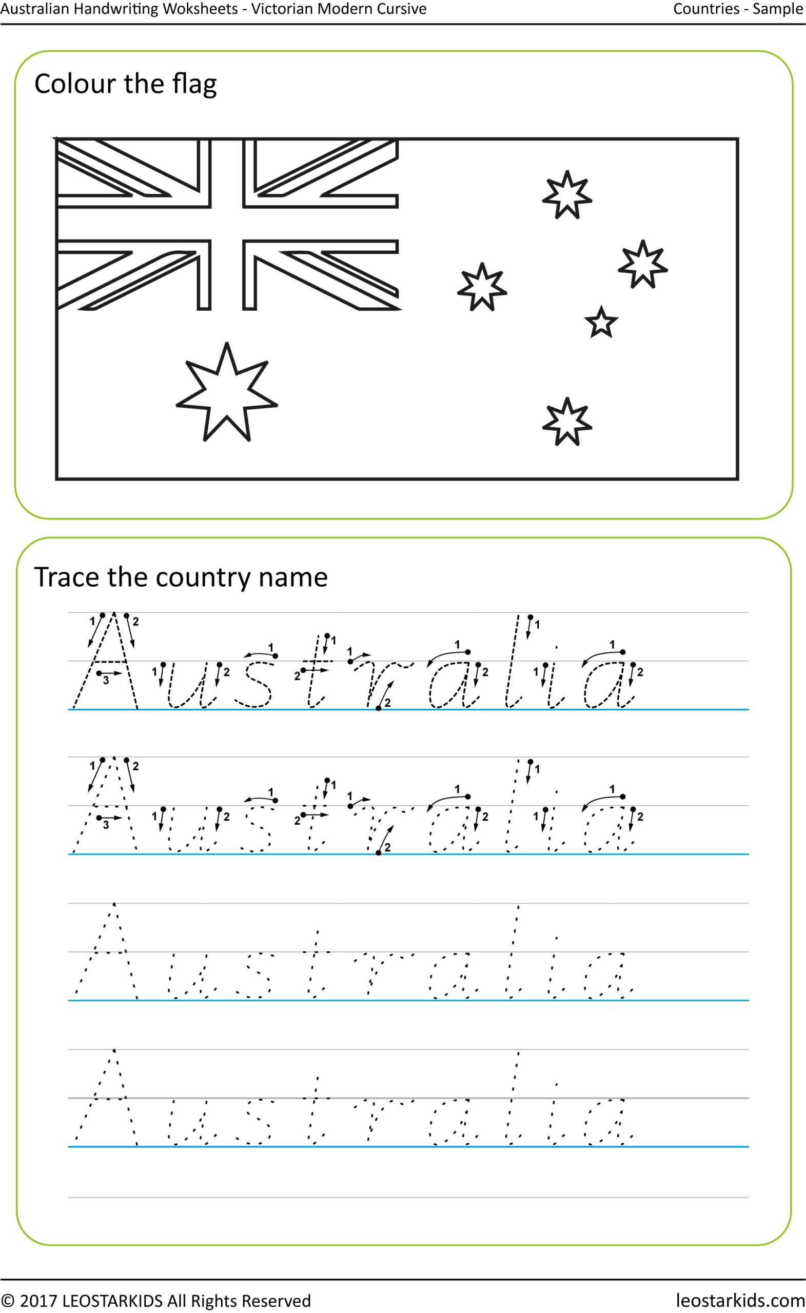 Nsw Foundation Style Handwriting Alphabet Practice within Alphabet Tracing Nsw