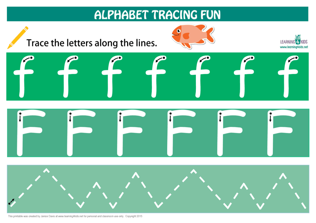 Number & Letters Tracing Mats Standard Print intended for Alphabet Tracing Mat