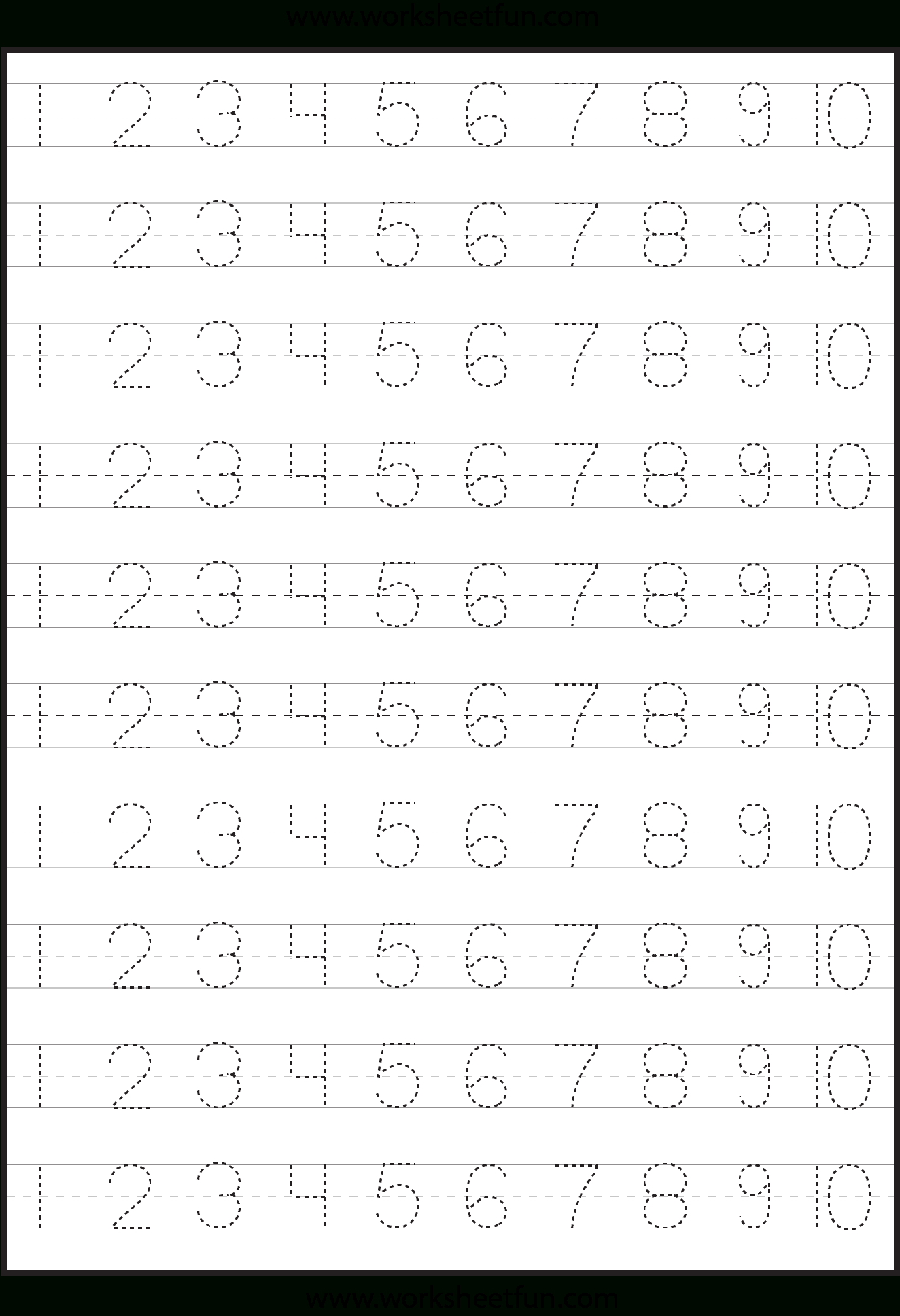 Number Tracing | Tracing Worksheets Preschool, Learning with regard to Alphabet Tracing Worksheets For 5 Year Olds