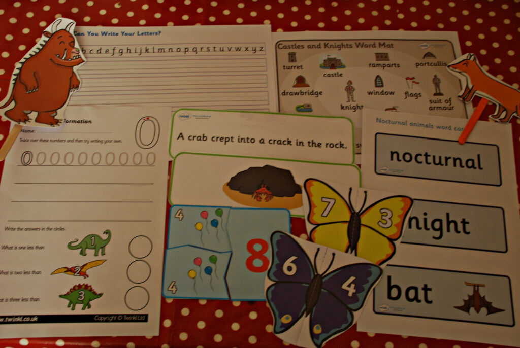 Our Favourite Free Resources From Twinkl | Ofamily Learning For Name Tracing Twinkl