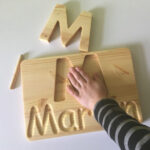 Personalized Name Tracing Board | Traditional Toys Intended For Name Tracing Board