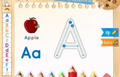 Alphabet Tracing On Ipad