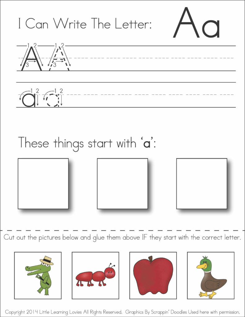 Pin On Awesome Homeschool Ideas Throughout Letter I Worksheets Cut And Paste