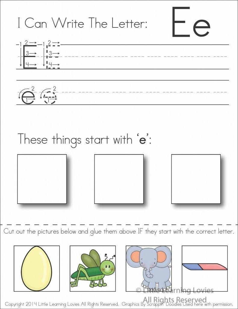 Pin On Classroom throughout Letter I Worksheets Cut And Paste