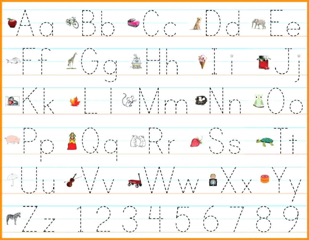 Pre K Writing Practice – Lifestyletravels.club With Pre K Alphabet Handwriting Worksheets