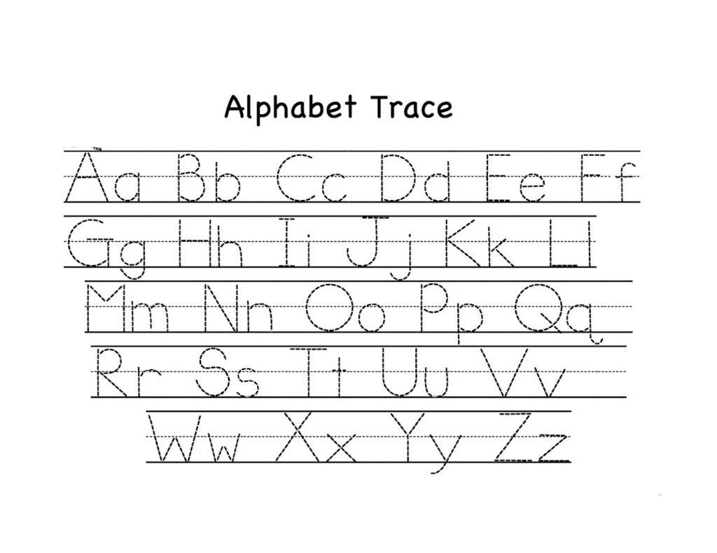 Preschool Tracing Worksheets   Best Coloring Pages For Kids Inside Alphabet Tracing Activities For Preschoolers