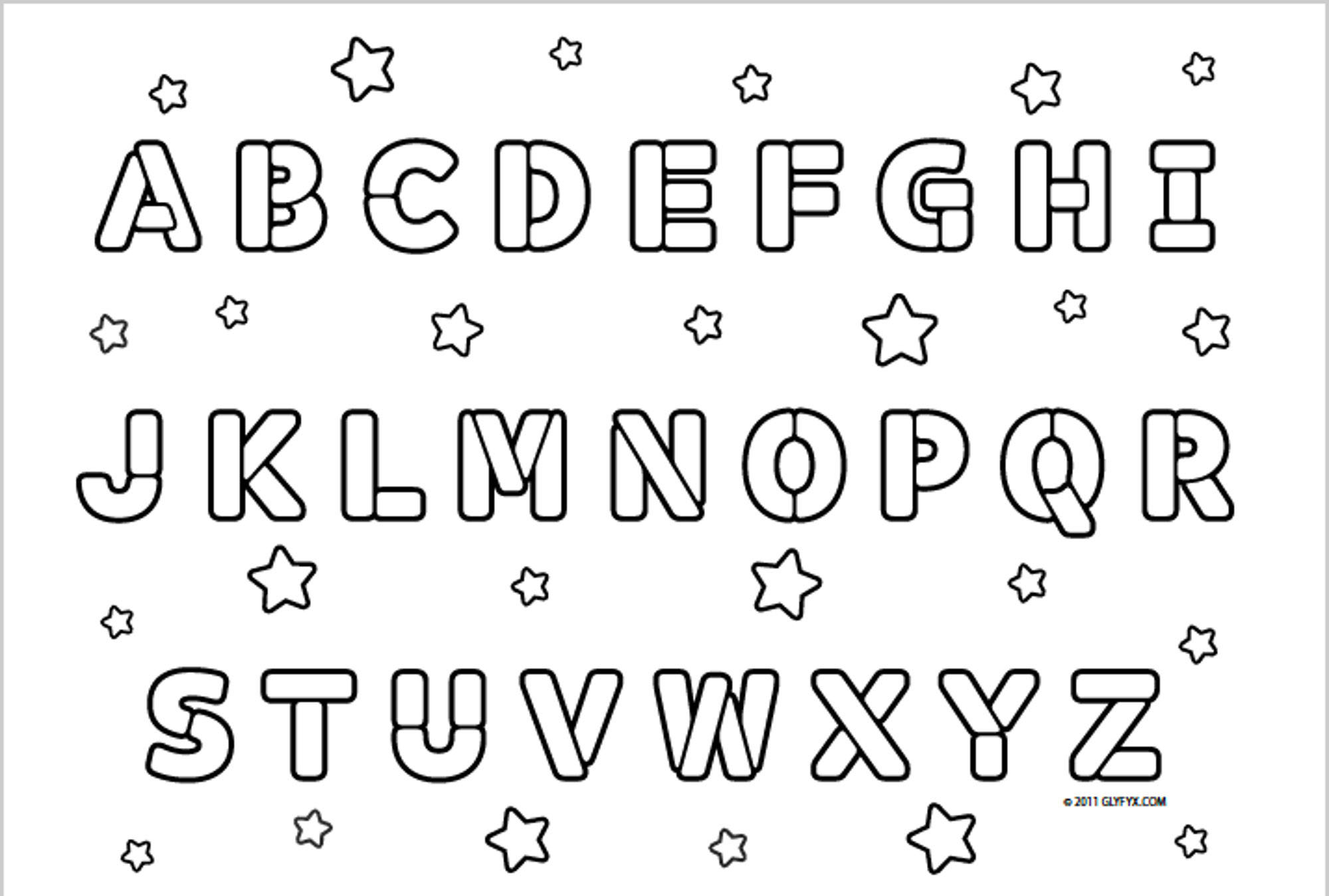 Printable Alphabet Letters Tag: Extraordinary Coloring throughout Alphabet Colouring Worksheets Pdf