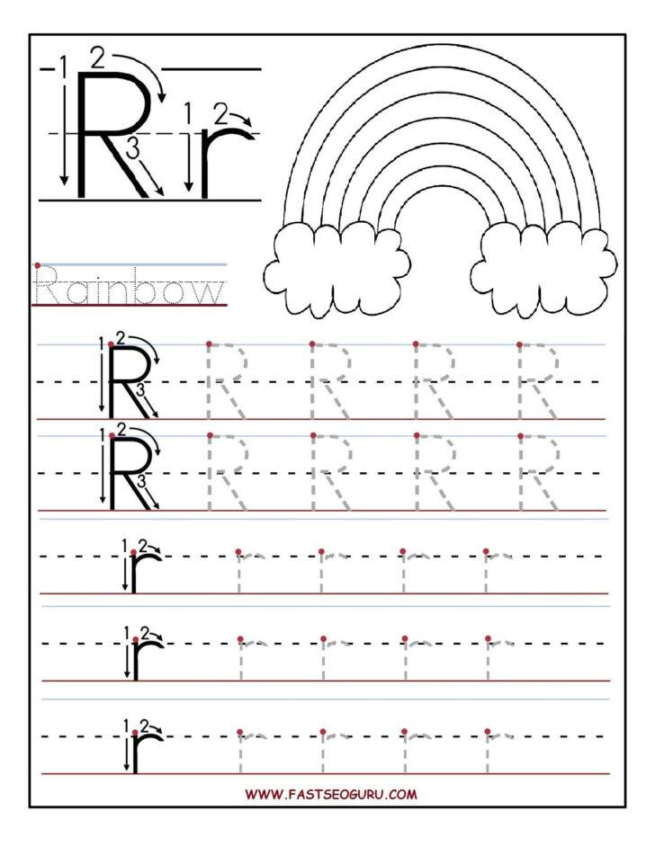 Alphabet Worksheets Grade R