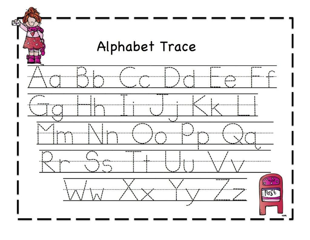 Printable Letter To Trace | Activity Shelter Regarding Letter Tracing Kindergarten